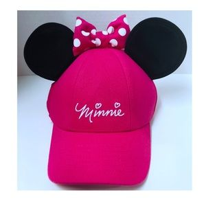 Disney Minnie Mouse Pink Ball Cap